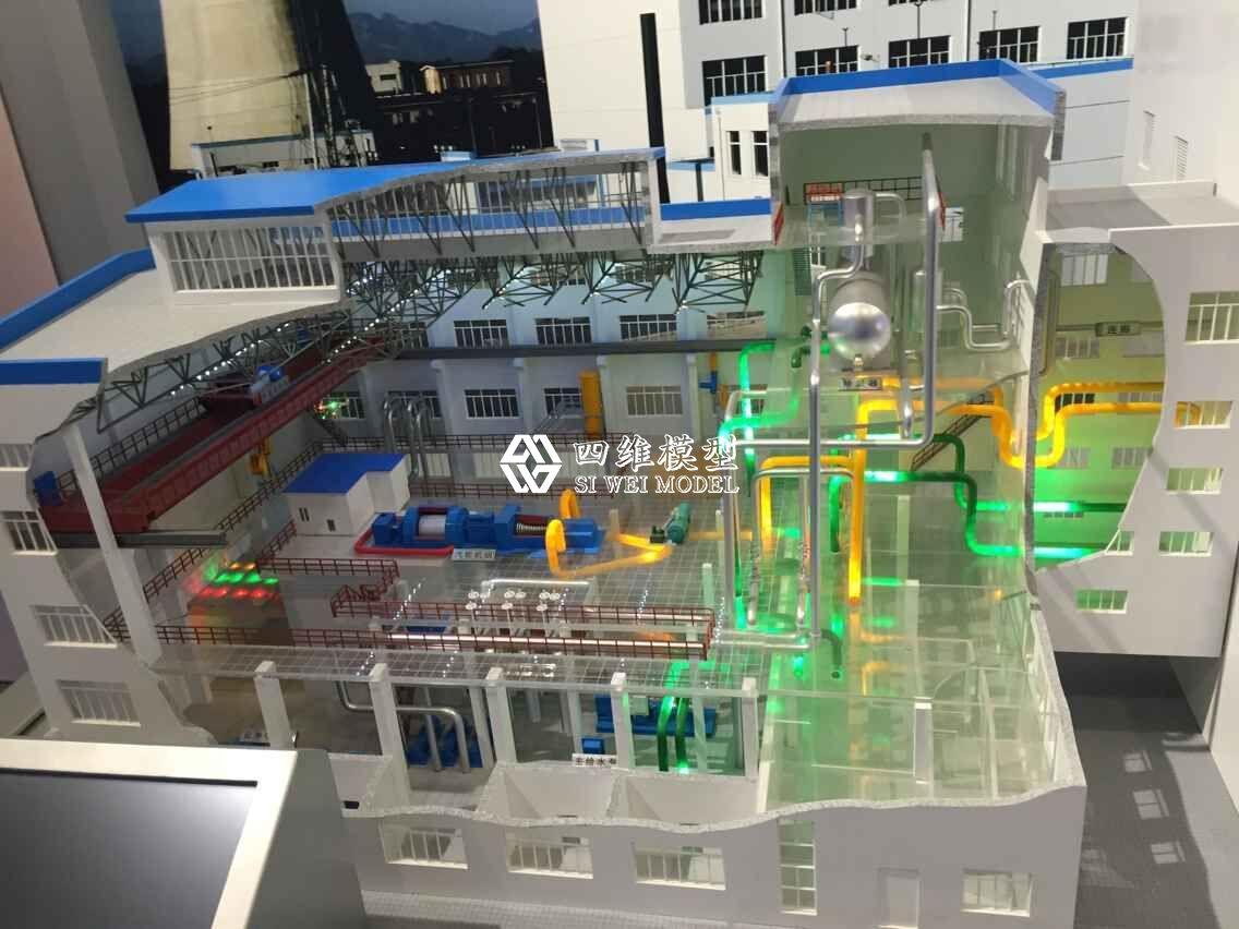 北京四维云尚模型--核工业展厅——实验快堆