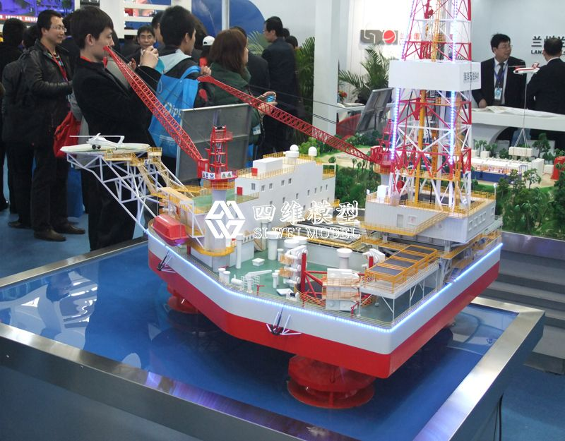 北京四维云尚模型--中石化展厅——海洋平台模型