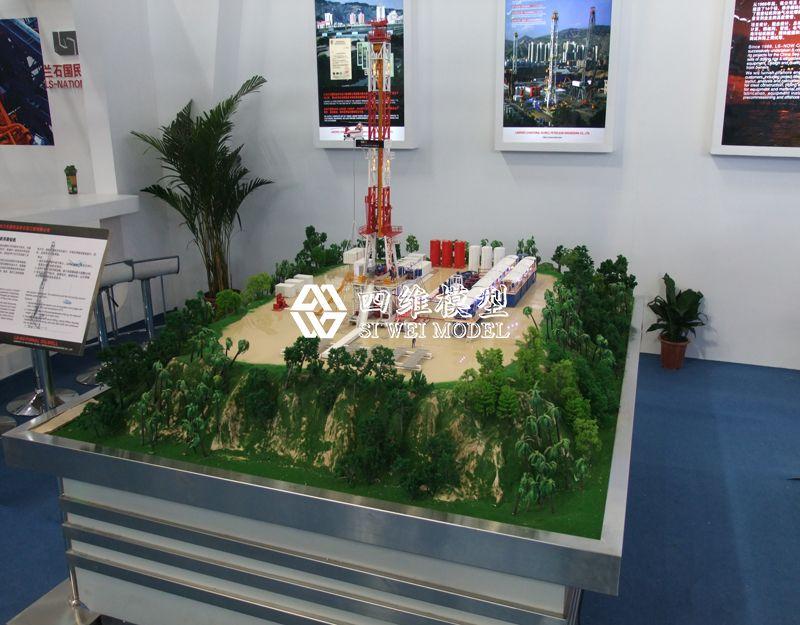 北京四维云尚模型--兰州石油展厅模型