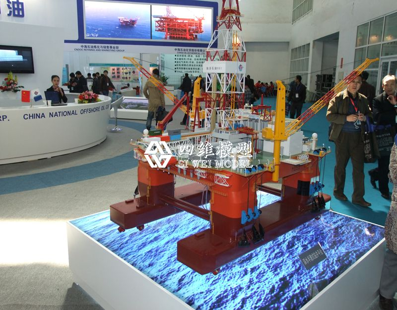 北京四维云尚模型--中海油展厅模型