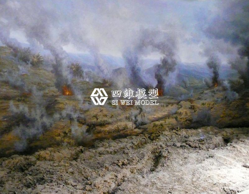 北京四维云尚模型--盘龙攻坚战模型