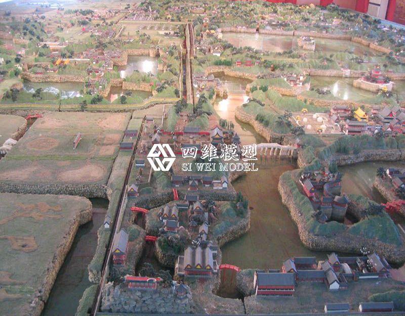 北京四维云尚模型--明古都模型
