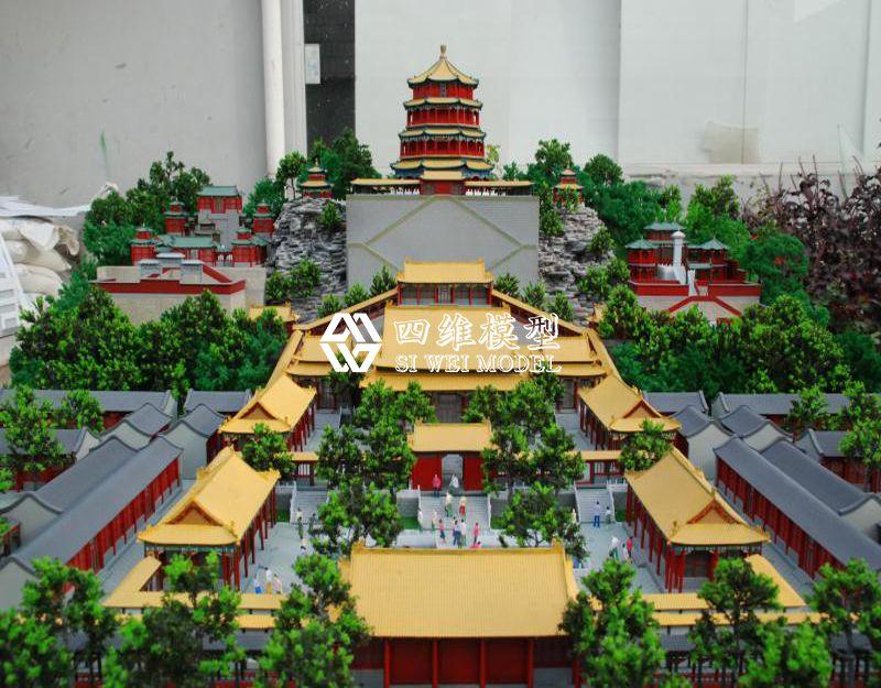 北京四维云尚模型--颐和园模型