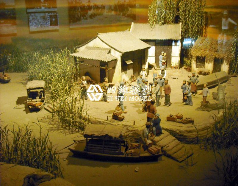 北京四维云尚模型--水岸的芦苇