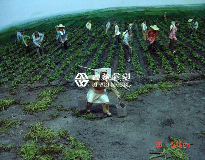 北京四维云尚模型--开发北大荒微缩场景复原