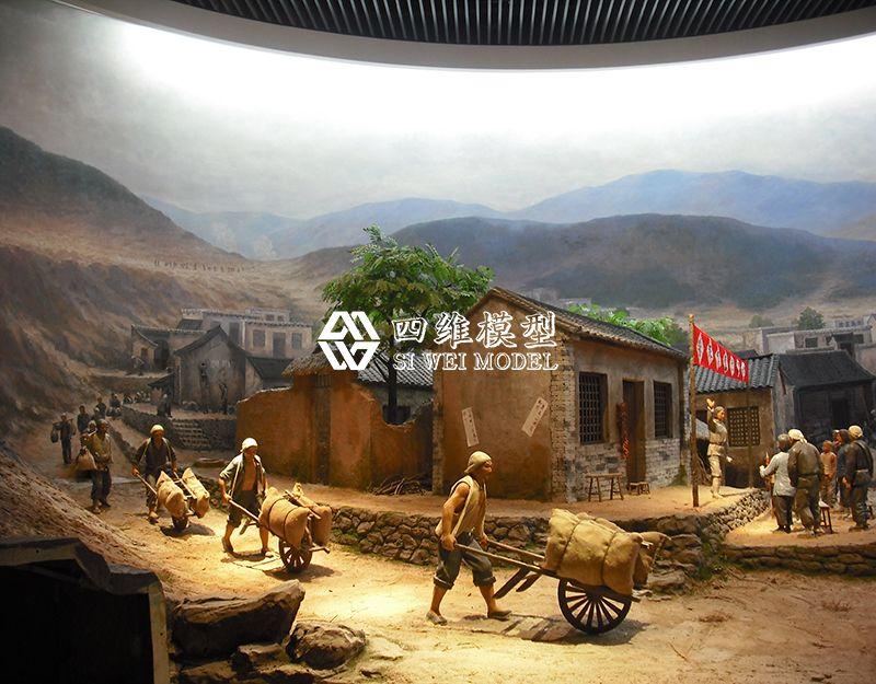 北京四维云尚模型-军民鱼水一家亲模型